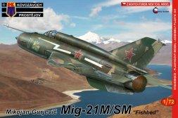 MiG-21M/SM Fishbed 1:72
