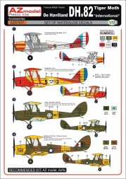 AZmodel DH-82 Tiger Moth - International 1:72
