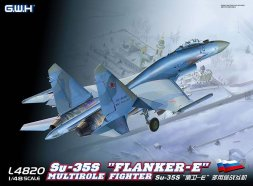 Great Wall Hobby Su-35S Flanker-E 1:48