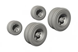 CMK Biber Trailer Wheels 1:72