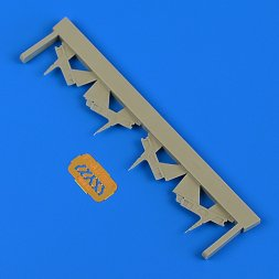 F-14A Tomcat tail reinforcement plates for Tamiya 1:48