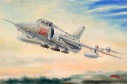 Nanchang Q-5C 1:72