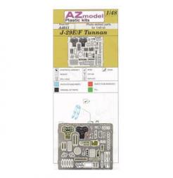AZmodel J-29E/F Tunnan P.E. set 1:48