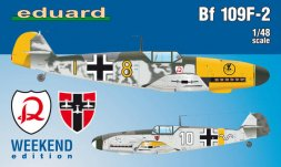 Bf 109F-2 - WEEKEND edition 1:48