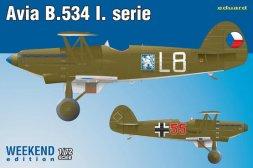 Avia B-534 I. serie - WEEKEND edition 1:72