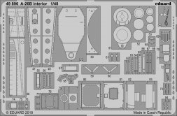 Eduard A-26B interior for Revell 1:48