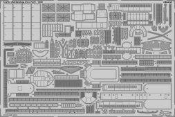 Eduard USS Saratoga CV-3 pt.1 for Trumpeter 1:350