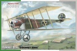 Fokker D. II - Grünzweigs Planes 1:32