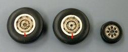 Plusmodel P2V Neprune wheels 1:72