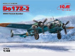 Dornier Do 17Z-2- Finnish service 1:48