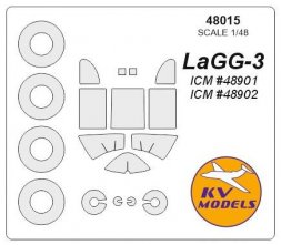 LaGG-3 mask for ICM 1:48