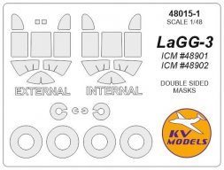 LaGG-3 mask (double sided) for ICM 1:48