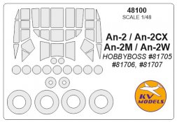 An-2 mask for Hobby Boss 1:48