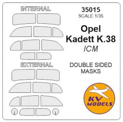 Opel Kadett K.38 mask (double sided) for ICM 1:35