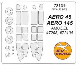 Aero 45/145 mask for Amodel 1:72