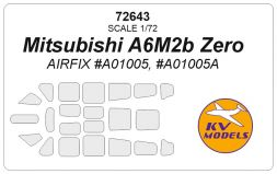 A6M2b Zero mask for Airfix 1:72