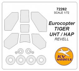 KV Models Eurocopter TIGER UHT / HAP mask for Revell 1:72