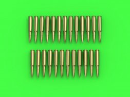Master Browning .50 caliber (12.7mm) - cartridges 1:35