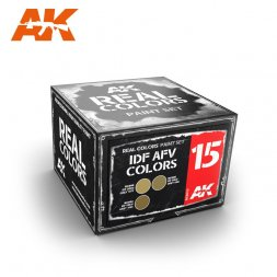 AK Real Colors - IDF AFV Colors