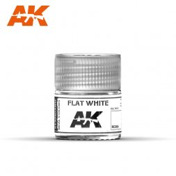 AK Real Colors - RC004 Flat White (RAL9003) 10ml
