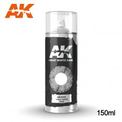 AK Spray - Great White Base 150ml