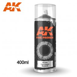 Fine Primer Black Spray 400ml