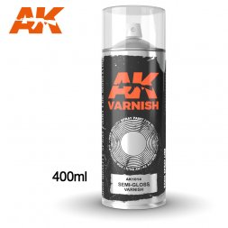 AK Spray - Semi Gloss Varnish 400ml