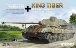 Meng Sd.Kfz.182 King Tiger (Porsche Turret) 1:35