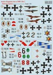 Albatros-Fighters - Austro-Hungarian Aces Part.1 1:72