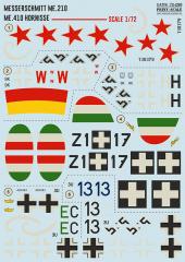 Print Scale Messerschmitt Me.210/ Me.410 Hornisse 1:72