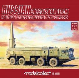 9K723 Iskander-M Tactical ballis mis. (MZKT) (pre-painting) 1:72