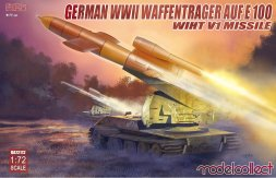 E-100 panzer weapon carrier with V1 Missile launcher 1:72