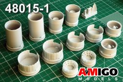 MiG-25RB/RBT exhaust nozzle for ICM 1:48