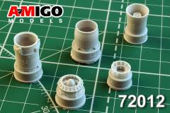 MiG-21F/F-13 ehaust nozzle 1:72