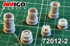 MiG-21SM/SMT/MF/PD ehaust nozzle 1:72