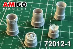 MiG-21PF/PFM/S/M/R ehaust nozzle 1:72