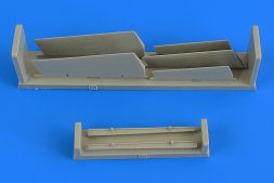A-7 Corsair II control surfaces for Fijimi 1:72