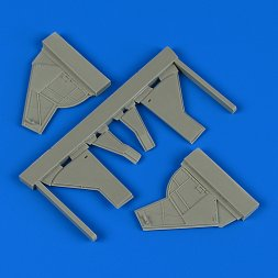 Sea Fury FB.11 undercarriage covers for Airfix 1:48
