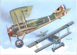 Fokker D.VII vs SPAD XIII - Duels in The sky 1:144