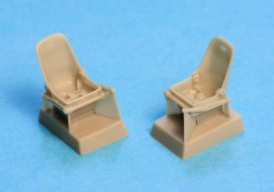 Bf 109E Seat with harness 1:48