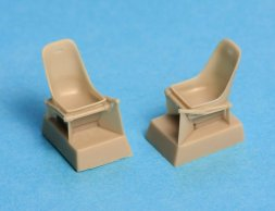 Bf 109E seat without harness 1:48