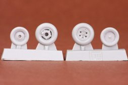Folland Gnat T.1 wheel set 1:48