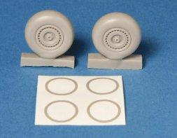 Do-217 Main wheels & mask 1:48