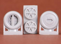 Gloster Gladiator wheels (spoked) for Merit 1:48