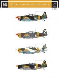 Morane-Saulnier M.S. 406 in Finnish Service 1:48