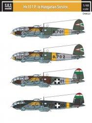Heinkel He 111P in Hungarian Service 1:48