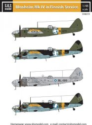 Bristol Blenheim Mk. IV. in Finnish Service 1:48