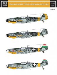 Bf 109G-6 in Hungarian Service Vol.1 1:48