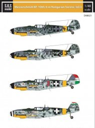 Bf 109G-6 in Hungarian Service Vol.2 1:48