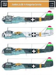 Junkers Ju 88 in Hungarian Service 1:48